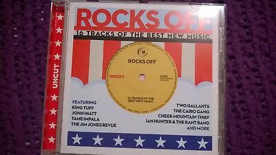 Rocks Off - Uncut CD Feat King Tuff, Tame Impala, John Hiatt Disc Perfect • 2.99£