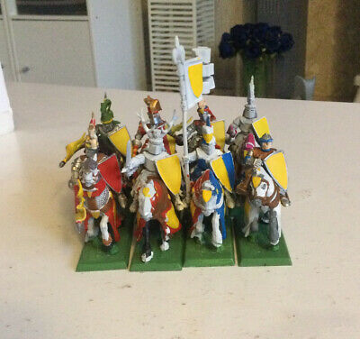 Warhammer Bretonnian Knights Of The Realm (Plastic) Unit Of 8 OOP • 6.70£