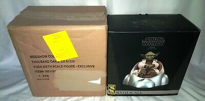 Sideshow Star Wars Yoda Jedi Sixth Scale Figure Exclusive Holocron Version  • 149.99£