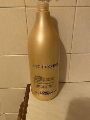 L'Oreal Serie Expert Absolute Repair Gold Quinoa + Protein Shampoo 1500ml • 15£