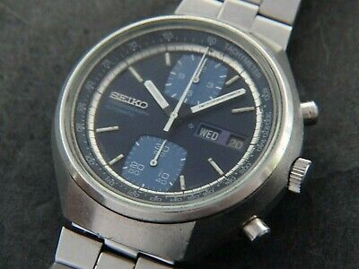 $ CDN130.35 • Buy VTGE SEIKO JOHN PLAYER SPECIAL 6138 8030 AUTOMATIC CHRONOGRAPH.  SERVICED. 70s