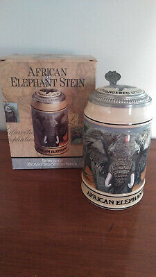 $ CDN82.66 • Buy Vintage Early 90's Lot Of 6 Budweiser Endangered Species Collector Series Steins