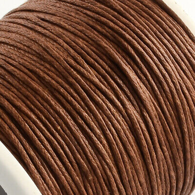£1.64 • Buy  Jewellery Necklace Waxed Cotton Thread Cord, Various Colours. - 1mm X 1, 5,10m.