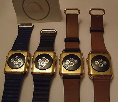 $ CDN137.50 • Buy Professional 24ct Gold Plating Service For Apple Watch 15 Microns 24k Series 4 3