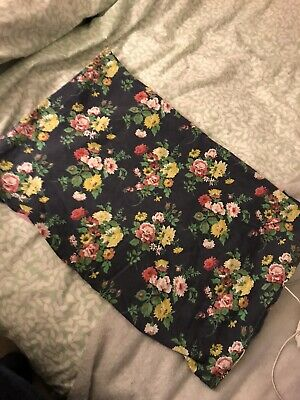Jack Wills Bed Cushion Cover - Duvet - Floral And Stripe • 20£