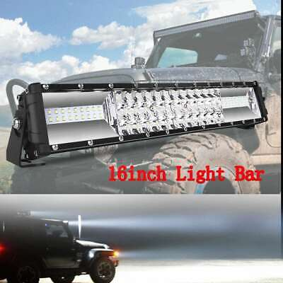 AU50.42 • Buy Autofeel 16inch LED Light Bar Flood Spot Combo 4WD Offroad Work Driving 4WD 17""