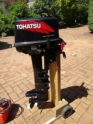 AU500 • Buy Outboard Motor. Tohatsu 9.8hp Long Shaft 2 Stroke