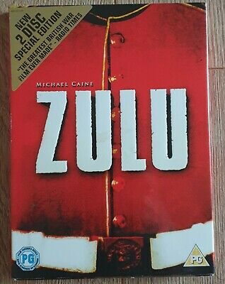 Zulu (DVD, 2-Disc Special Edition Set) With Slip Cover  • 2.69£