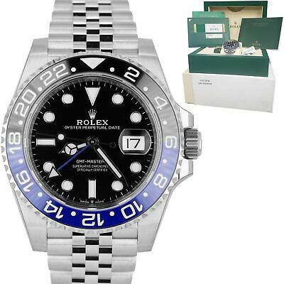 $ CDN20956.77 • Buy BRAND NEW 2020 Rolex GMT Master II Batman Black Blue SS Ceramic 40mm 126710 BLNR