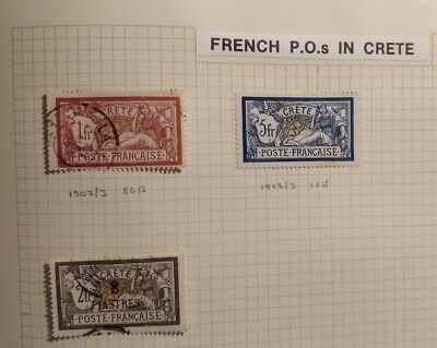 French Post Office In Crete • 20£