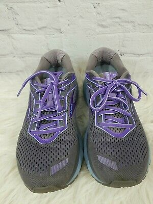 $ CDN50.64 • Buy Brooks Womens Shoes Ghost 12 Gray Purple Size 8.5 M Active Running