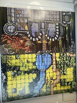 AU39.13 • Buy REPLACEMENT BOARDS For DRAGON STRIKE Board Game 1993 TSR Dungeons & Dragons