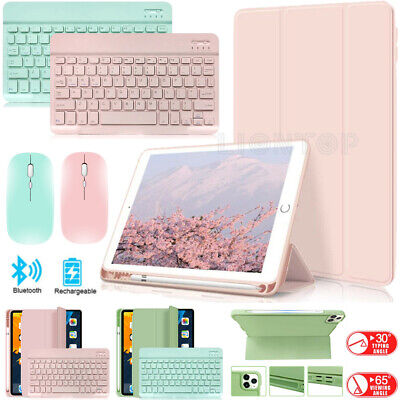 AU38.99 • Buy AU For IPad 10.2  8th 7th Generation Bluetooth Keyboard Mouse Leather Case Cover