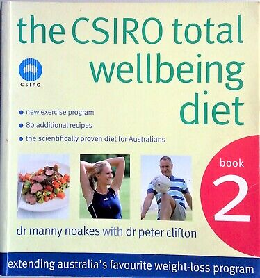 AU19 • Buy THE CSIRO TOTAL WELLBEING DIET BOOK 2 - 80 More Recipes - FREEPOST - Cookbook