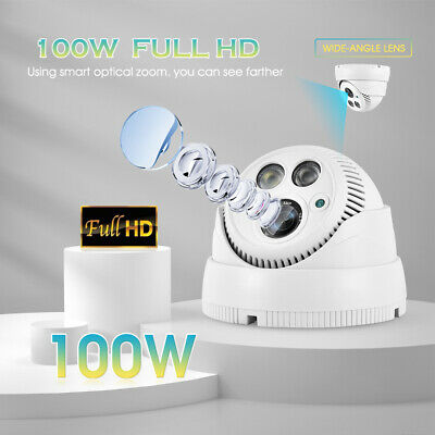 IP Camera 5MP 1080P POE IP Camera CCTV Dome Security Cameras 2MP For NVR Wired • 25.99£