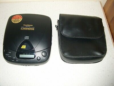 Goodmans Gcd 45xp Personal Cd Player. Discman Style - Retro. Tested And Working • 19.99£