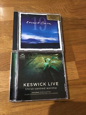 Keswick Praise 19 & Keswick Live Christ-Centred Worship CD's • 9.99£