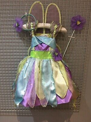 £11.99 • Buy Tinkerbelle Fairy Fancy Dress Up Role Play Girls Costume New UK Stock
