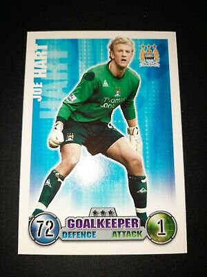 £6 • Buy Joe Hart Manchester City Rookie Card Match Attax 2007/08