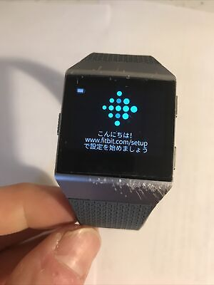 $ CDN63.52 • Buy Fitbit Ionic Smart Watch With Heart Rate Monitor Charging Cables Used Large
