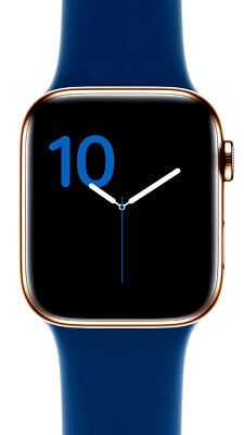 $ CDN499.95 • Buy Apple Watch Series 4 GPS Cellular 40 Mm Gold Stainless Steel Case With Blue Band