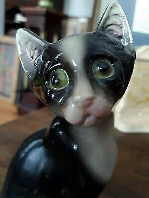 $ CDN1.99 • Buy Antique Chinese Porcelain Cat 5 1/8 Inches Tall