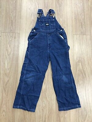 Childrens Dungarees Age 11-12 Years Key Blue JG0096 • 14.99£