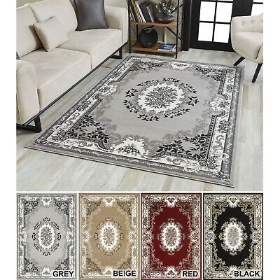 Oriental Rugs WithTraditional Floral Designs Patterns Small Large Area Rugs • 64.99£