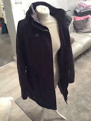 Peter Storm Ladies Grey Parka Hooded Coat Size 14 In Good Condition ...-A5 • 20£