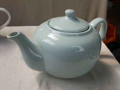 £8 • Buy Country Living Collection Light Blue Teapot