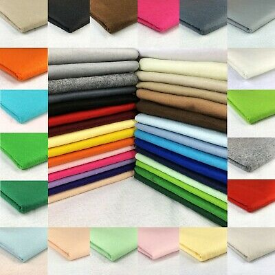 Felt Fabric 60  (150cms) Wide 100% Acrylic Material Sewing Decoration Crafting • 4.50£