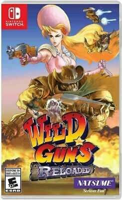 AU42 • Buy Wild Guns: Reloaded Nintendo Switch Brand New Sealed