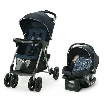 Graco Baby Travel System With Infant Car Seat Childs Tray Cup Holder • 162.81£