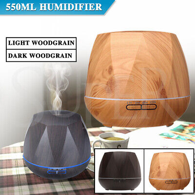 AU23.49 • Buy Aromatherapy Aroma Diffuser Ultrasonic Essential LED Oil Air Humidifier Purifier