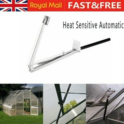 Automatic Greenhouse Window Roof Vent Opener Closer Auto Heat Sensitive Temp UK • 22.96£