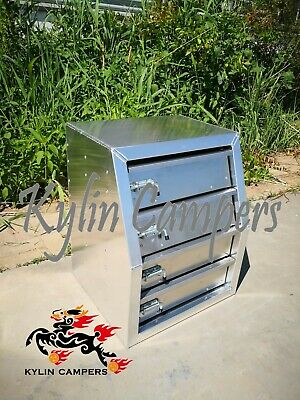 AU450 • Buy Aluminium Toolbox Drawers/ Ute Canopy Drawer Inserts/ 4 Layered Drawer Module