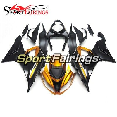$548.78 • Buy ABS Fairing For Kawasaki ZX-6R 2003 2004 Ninja ZX6R 636 Gold Black Bike Body Kit