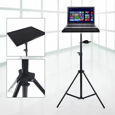 AU49.01 • Buy Laptop Projector Tripod Stand Adjustable Floor Laptop Stand Holder&Tray 69-190CM