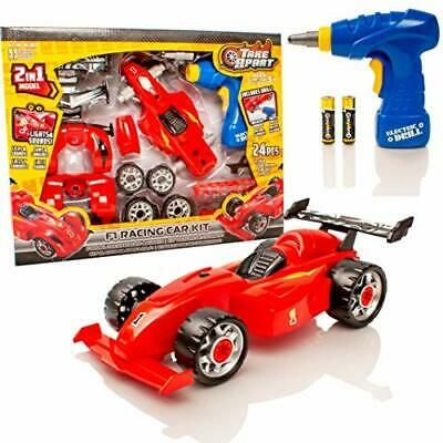 £11.55 • Buy 2 In 1 F1 Racing Car Kit - Build Your Own Set For Kids Engineer Construct Gift