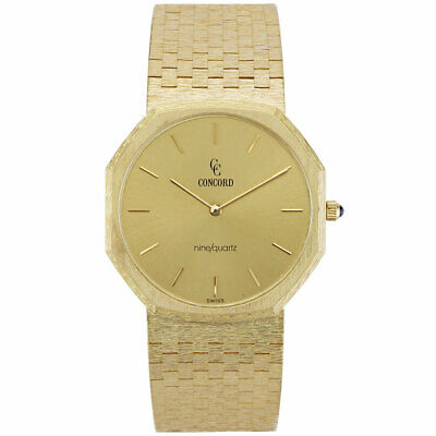 $7900 • Buy Concord Mariner Mens Watch 18K Yellow Gold 50 81 114A6 MSRP $15,995.00