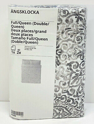 Ikea LUKTJASMIN King Duvet Cover And Pillowcases Red-brown - NEW • 53.90£