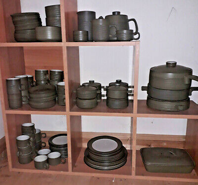 £6 • Buy Denby Chevron, Various Pieces, All Pictured And Priced,