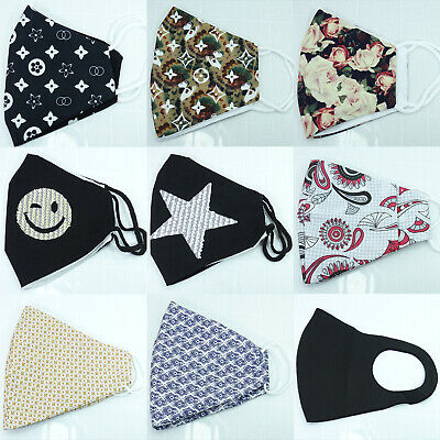 $ CDN20.55 • Buy Free 1 Filter+Cover Mouths / Nose Of Fabric Naso Mouth Cover Bocca Couvre-Bouche