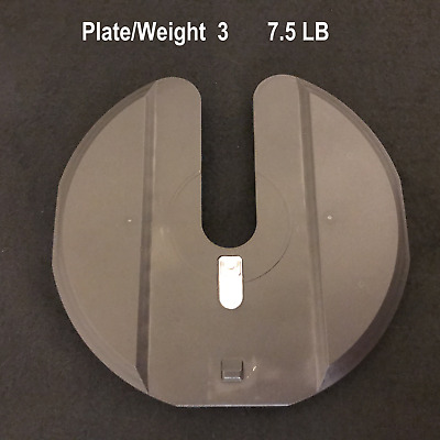 $ CDN50.21 • Buy Bowflex 1090 Only SelectTech Dumbbell Replacement #3 Middle Weight Plate (7.5lb)