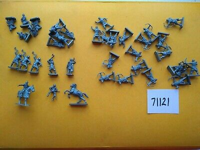Zvezda 8001 / Italeri, Russian Knights, Medieval, 1/72 Miniatures, Incomplete • 2.99£