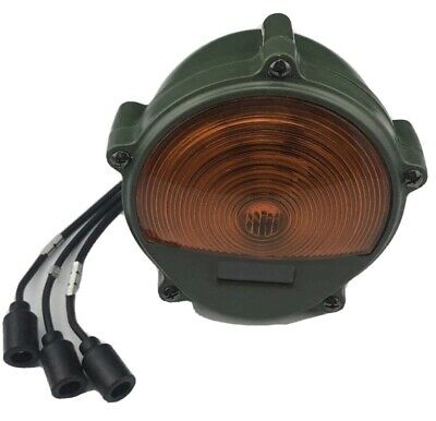 $42.95 • Buy Military Humvee M Series 24v Front Amber Turn Signal 11614156, 6220-01-433-8813