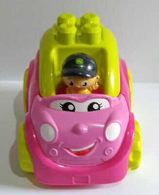 £6.75 • Buy Mega Bloks Pink Car With Driver (DO NOT MATCH) - Please Read.