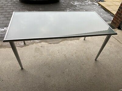 £45 • Buy Frosted Glass Desk