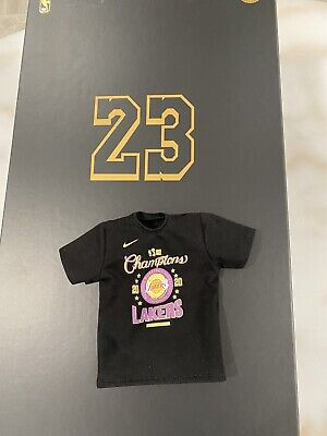 $24.99 • Buy 1/6 OFFICIAL ENTERBAY LeBron James Lakers 2020 CHAMPIONSHIP T-shirt  ONLY