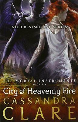 City Of Heavenly Fire - The Mortal Instruments Book 6, , Good Condition Book, IS • 5£